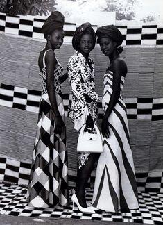 Seydou Keita, father of African photography - Malik Sidibe fashion editorial - Seydou Keita, African Inspired Fashion, African Fashion, Korean Fashion, African Style, Mode Editorials, Fashion Editorials, My Black Is Beautiful, Beautiful Women