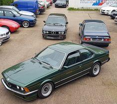 Maserati, Bugatti, Lamborghini, Ferrari, Bmw Classic, Best Classic Cars, Bmw 635 Csi, Bmw E24, Porsche