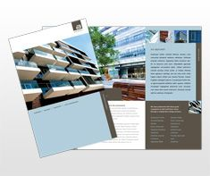 ArchitectAndDesignFirmFlyerTemplate  Newsletter Design
