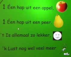 liedje: één hap uit een appel Very Hungry Caterpillar, Food Themes, Fruits And Vegetables, Healthy Recipes, School, Seeds, Hungry Caterpillar, Fruits And Veggies, Healthy Eating Recipes
