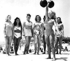 Healthy, fit, strong and feminine - then & now.