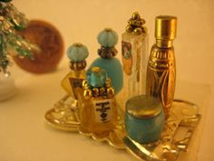 Studio E: perfume bottles For inspiration - many more at this site