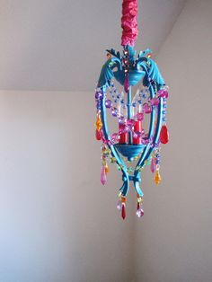 Gypsy Dreams Chandelier Pendant Lamp MADE by ShabulousChandeliers