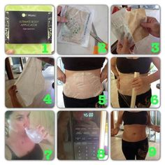 What To Expect The First Time You Use The Ultimate Body Applicator  You'll see results! Message me if you have any questions or go online and order https://wrappingskinny.myitworks.com/