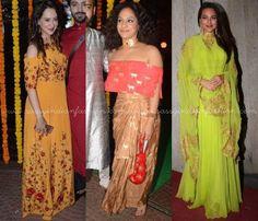 Diwali Dresses of bollywood Celebrities