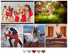 Red and fabulous wedding!