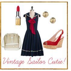 Vintage Sailor Cutie!