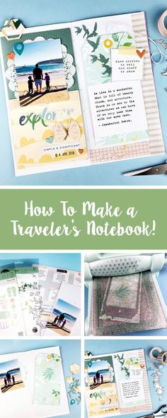 Make your summer adventures that much more special with this handmade DIY journal idea. Feature your make with us using #mymakingstory - #journaling #crafts #handmade #DIYjournal #DIYjournaling #scrapbooking #sizzix #makersgonnamake
