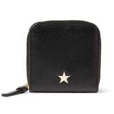 Star Leather Coin Wallet by Givenchy