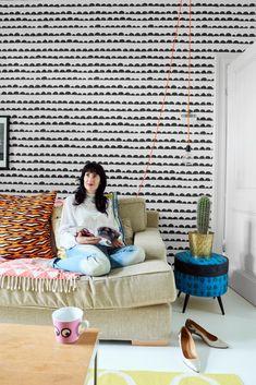 Het huis van Evelyn en Otto geeft je een flinke dosis kleurinspiratie - Roomed