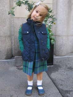 This is the perfect way to wear a Papa D'Anjou dress! Little Girl Outfits, Little Girls, Kids Wear, Maternity, Nyc, How To Wear, Jackets, Clothes, Dresses