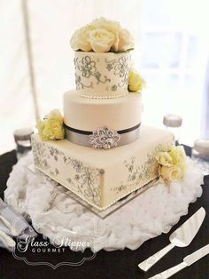 Wedding Cakes - kindly gain this brilliant collection, pin ref 3632519067 here. Creative Wedding Cakes, Amazing Wedding Cakes, Elegant Wedding Cakes, Amazing Cakes, Dummy Cake, Gourmet Cakes, Types Of Cakes, Wedding Preparation, Glass Slipper