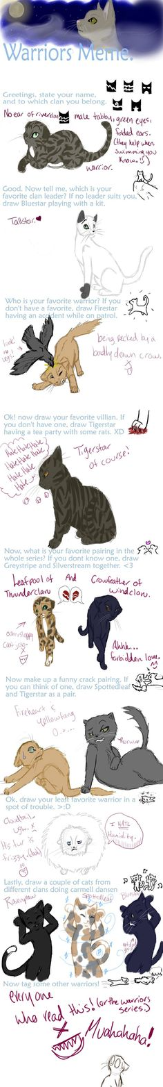 Totally agree with the Leafpool Crowfeather thing < on top of that, Firestar having an accident?? I'm sorry what??