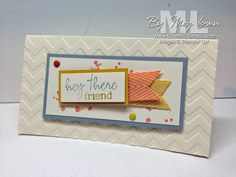 Paper Pumpkin stamps go to work for another card - LovenStamps