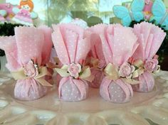 tinker more and more: 12 souvenir ideas in shades of pink for a baby shower . - - tinker more and more: 12 souvenir ideas in shades of pink for a baby shower … – - Shower Party, Baby Shower Parties, Bridal Shower, Wedding Favours, Party Favors, Wedding Gifts, Wedding Invitation, Baby Shower Souvenirs, Fiesta Baby Shower