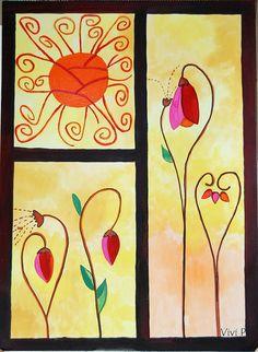 Más flores, via Flickr.