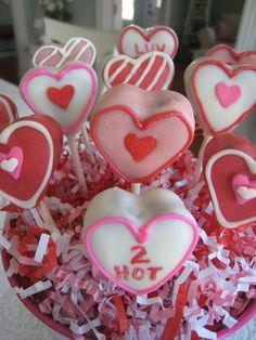 Valentine's Cake Pops {by Freshly Baked}