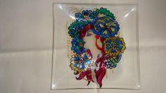 Tacna mala Glass painting Mirjana Selena