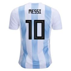 a0cdb735c 2018 World Cup Jersey Messi Argentina Home Replica Blue Shirt 2018 World  Cup Jersey Messi Argentina Home Replica Blue Shirt