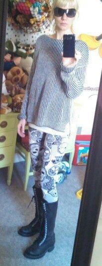 #doyoucarewhatiwear #sdkstyle #clothes #fashion #skullleggings
