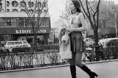 Omote-sando in Showa era/ 昭和時代 Showa Period, Showa Era, Japanese History, Japanese Culture, Old Photos, Vintage Photos, Vintage Street Fashion, Retro Pictures, The Old Days