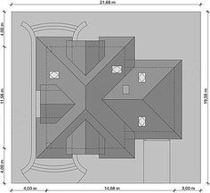 Usytuowanie projektu Solon na działce Beautiful House Plans, Beautiful Homes, Good House, Nova, Floor Plans, Exterior, House Design, How To Plan, Board