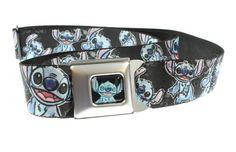 Disney Lilo & Stitch Sketch Close-Up Seatbelt Belt