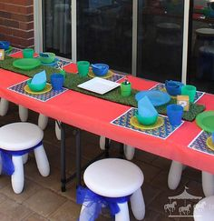 Super Mario theme party hire packages for children in Perth, WA