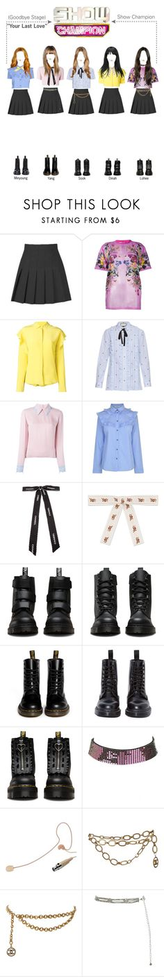 """""""Show Champion SPICE GIRLS - YOUR LAST LOVE"""" by spicegirls-official ❤ liked on Polyvore featuring Givenchy, MSGM, Gucci, Roksanda, Gestuz, Chanel, Dr. Martens, Lazy Oaf, Charlotte Russe and New Look"""