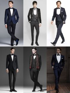 Men's Formal Fashion Basics: Tuxedo Lookbook Inspiration