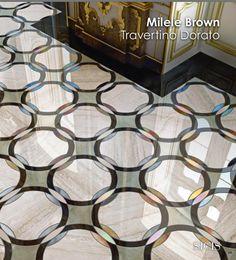 The Mosaic Art Factory - The SICIS concept of luxury. Marble Floor, Marble Mosaic, Mosaic Art, Mosaics, Floor Patterns, Tile Patterns, Textures Patterns, Sicis Mosaic, Design Art