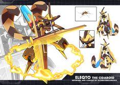 MMZX Ultimus- Eleqto the Cidaroid by ultimatemaverickx.deviantart.com on @DeviantArt