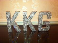 Sorority letters kappa kappa gamma KKG
