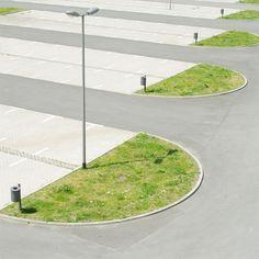 Matthias Heiderich | Parking Lot | Minimal Landscape | Suburbia