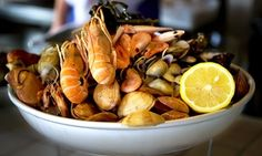 Groupon - $ 30 for $50 Worth of Seafood at The Rim Seafood  in The Rim Seafood. Groupon deal price: $30
