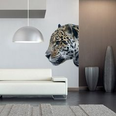 American Leopard Sticker - Moon Wall Stickers
