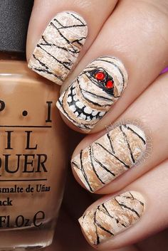 30 Halloween Nail Art Design Ideas