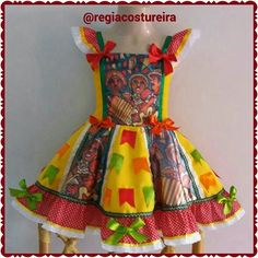 Baby Girl Dresses, Little Dresses, Kids Outfits Girls, Girl Outfits, Baby Kind, Summer Dresses, Formal Dresses, Dance Costumes, African Fashion