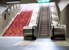 Coca-Cola engaged in some targeted marketing in a joint campaign with McDonalds. Regular, full-calorie Coke was advertised to people who take the stairs, while the people getting less activity by taking the escalator see ads for Diet Coke instead