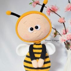 Bonnie With Bee Costume amigurumi pattern by Havva Designs
