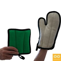 Hemp Pot Holder Oven Mitt
