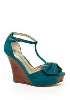 Seychelles Teal Carriage shoes! Totally cute @ideeli $49.99