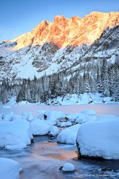 Dream Lake in October, Rocky Mountain National Park; photo by Erik Stensland