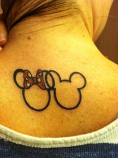 Mickey/Minnie tattoo