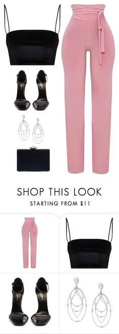 """Untitled #5883"" by twerkinonmaz ❤ liked on Polyvore featuring Yves Saint Laurent, Loree Rodkin and Oscar de la Renta"