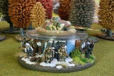German Turn Counter for Flames of War. Painted by Panzer Schule