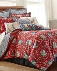 Exclusively Ours - 5 Piece Berkshire Comforter Collection - This floral print Berkshire 5 piece comforter set from the masters of home design at Nina Home by Nina Campbell instantly lends chic style to your bedroom decor. Set includes comforter, two matching shams and two euro shams.