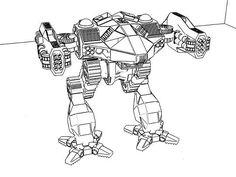 Nightmare (Custom Mech) - BattleTech Fanon Wiki
