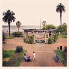 Plaza Gomensoro, Pocitos, Montevideo