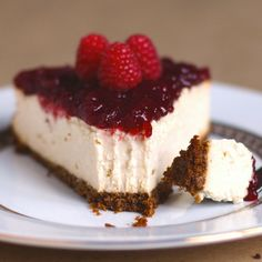 Guilt-Free New York Cheesecake... Sinful? No, try sinLESS!